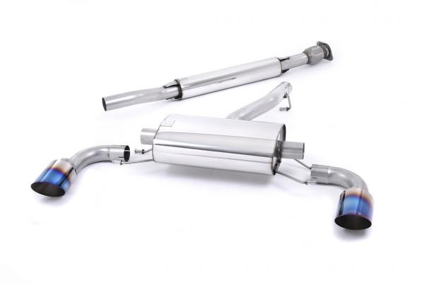 Milltek SSXSB036 Secondary Cat-back Dual GT115 - Scion FR-S 2.0-litre (2012 - 2021)