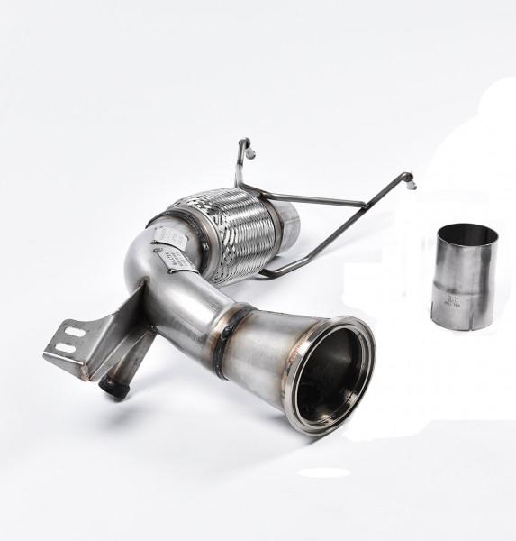 Milltek SSXM426 Large-bore Downpipe and De-cat - New Mini Mk3 (F56) Mini Cooper S 2.0 Turbo (UK and