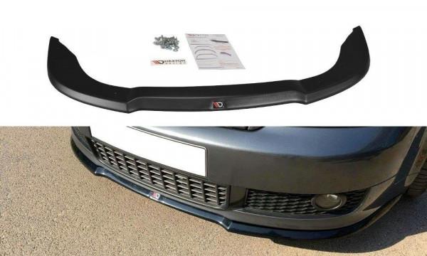 Front Ansatz V.1 passend für Audi A4 S-Line B6 schwarz matt