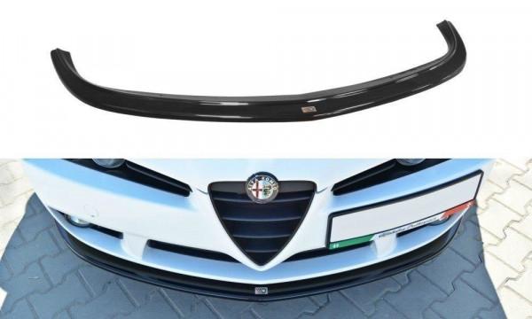 Front Ansatz für Alfa Romeo Brera schwarz matt