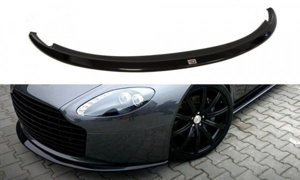 Front Ansatz für ASTON MARTIN V8 VANTAGE schwarz Hochglanz