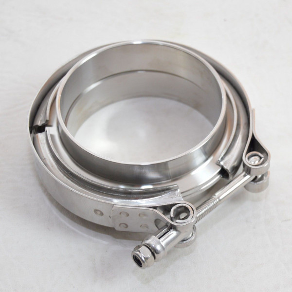 V-Band clamp stainless steel with quick release, 63,5 mm (2,5 inch)