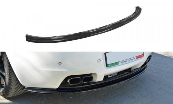 Mittlerer Diffusor Heck Ansatz für Alfa Romeo Brera schwarz matt