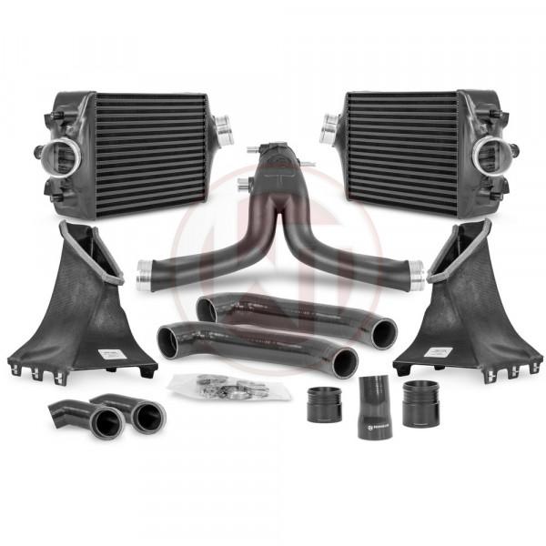 Wagner Comp. Paket Porsche 991 Turbo(S) Ladeluftkühler Kit / Y-Rohr - 991 Turbo