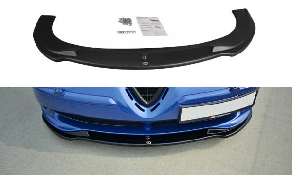 Front Ansatz V.1 passend für ALFA ROMEO 156 GTA schwarz Hochglanz