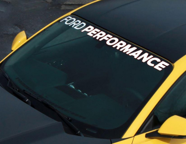 Ford Performance - Windshield Sticker, Ford Mustang 03/2015 02/2018, 2215910