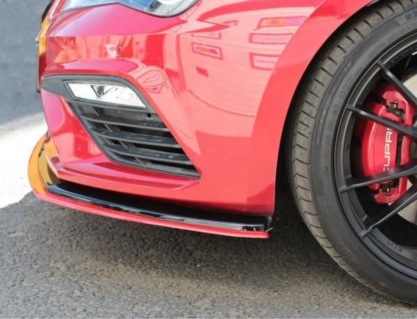 Front Ansatz passend für v.3 Seat Leon Mk3 Cupra/ FR Facelift