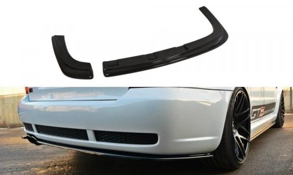 Diffusor Heck Ansatz für AUDI RS4 B5 schwarz matt