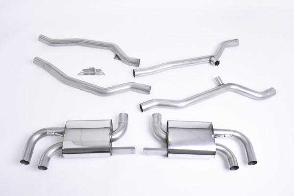 Milltek SSXPO108 Cat-back - Porsche Cayenne 958 Turbo 4.8 V8 (Pre-Facelift) (2010 - 2014)
