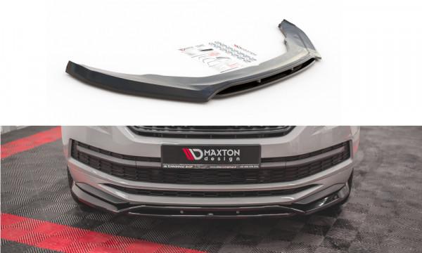 Front Ansatz passend für Skoda Kodiaq Mk1 Sportline/RS schwarz Hochglanz