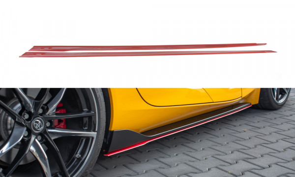 Seitenschweller Ansatz V.2 passend für Toyota Supra Mk5 Carbon Look