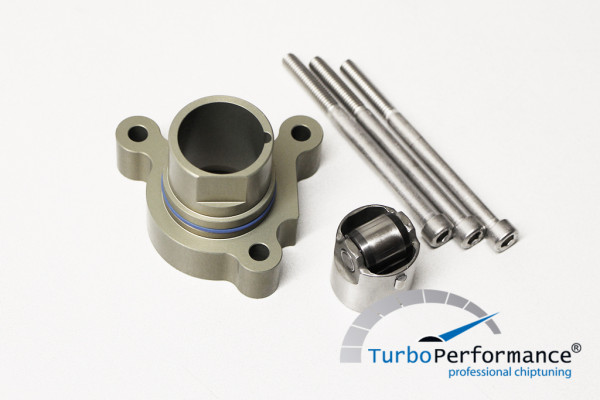 High pressure pump conversion kit on roller stand for 2.0 TFSI (EA113)