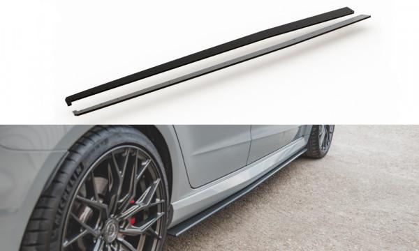 Rennen Haltbarkeit Seitenschweller Ansatz passend für Audi RS3 8V Sportback