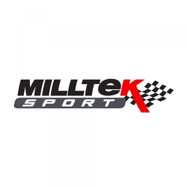Milltek SSXAU665 Cat-back Twin 80mm GT - Audi A4 2.0 TFSI S line B8 (2WD and quattro Tiptronic-only)