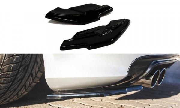 Heck Ansatz Flaps Diffusor für Audi S3 8P / S3 8P FL schwarz matt