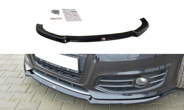Front Ansatz für V.1 Audi S3 8P FL schwarz matt