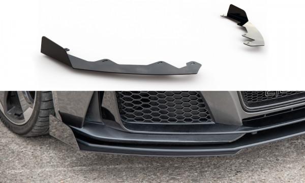 Flaps Audi RS3 8V Sportback schwarz Hochglanz