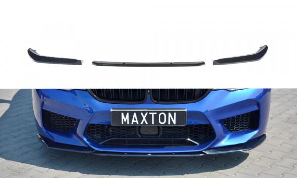 Front Ansatz V.2 passend für BMW M5 F90 schwarz Hochglanz