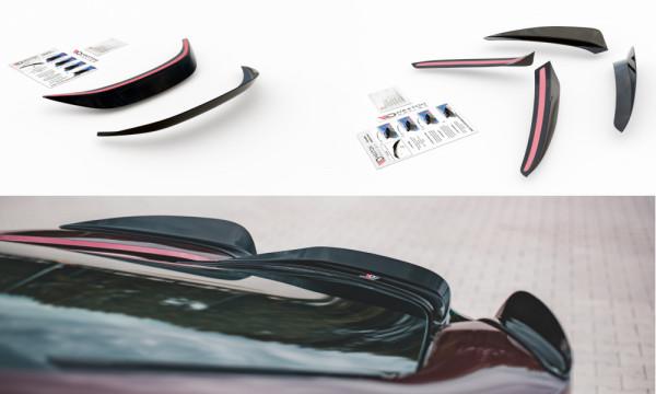 Spoiler CAP passend für Paket BMW i8 schwarz matt