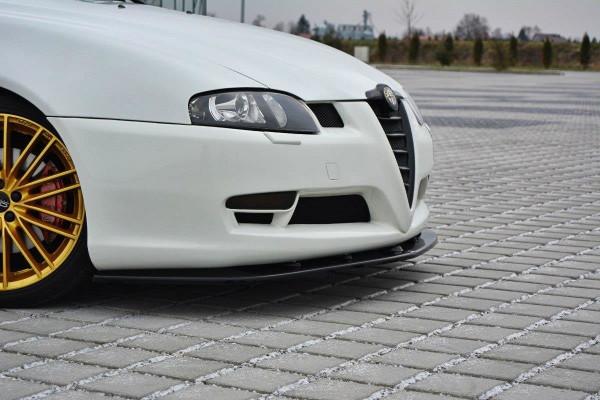 Front Ansatz V.1 passend für Alfa Romeo GT schwarz Hochglanz
