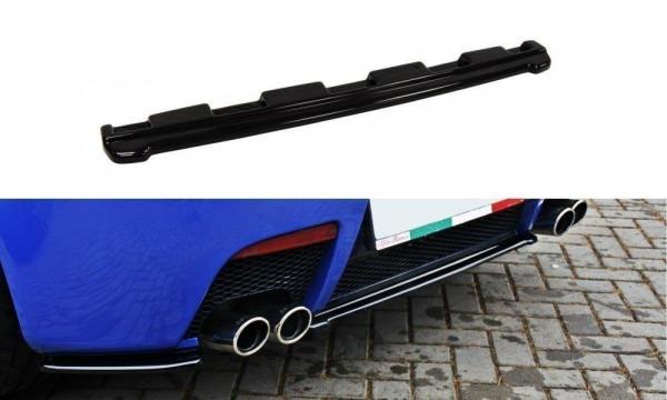 Mittlerer Diffusor Heck Ansatz für ALFA ROMEO 147 GTA schwarz Hochglanz