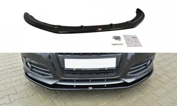 Front Ansatz für V.2 Audi S3 8P FL schwarz matt