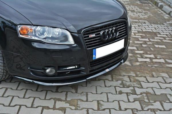 Front Diffuser V.2 Audi A4 B7 schwarz matt