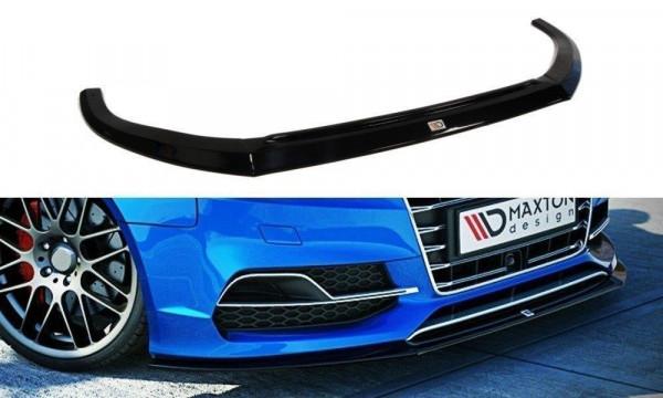 Front diffusor Audi S3 / A3 S-Line 8V Sedan / Cabrio schwarz Hochglanz