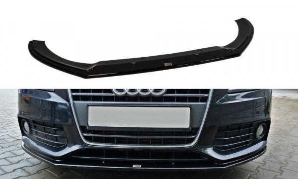 Front Diffuser V.2 Audi A4 B8 schwarz matt
